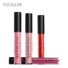 ФОТО focallure original matte liquid lipstick 25color waterproof sexy lip gloss tint women beauty sexy lipgloss stick makeup cosmetic