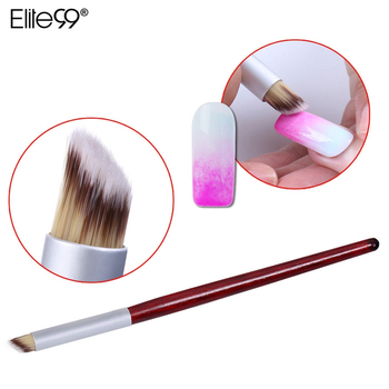 Elite99 Gradienten Effert Nagelgelpoliermittel Brush Pen Nail art werkzeuge Bemal Pen Für Falsche Nägel UV-LED-Gel lack