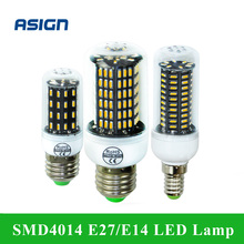 LED Corn Lamp SMD 4014 E27 E14 4014SMD LED Lights Corn Led Bulb 38 55 78 88 140Leds Chandelier Candle Lighting Home Decoration