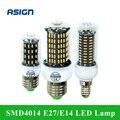 Lâmpada De Milho LEVOU 220 V E27 E14 4014SMD LED Luzes Led de Milho lâmpada 38 55 78 88 140 Leds Candelabro Da Iluminação Da Vela Decoração de Casa