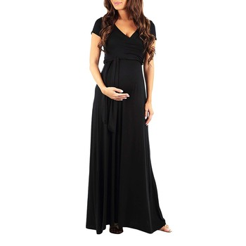 Mujer Carta Impresión Embarazadas Casual De Blusa Bebé