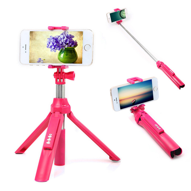 Selfie Stick and  Tripod For iPhone and  Smart Phone