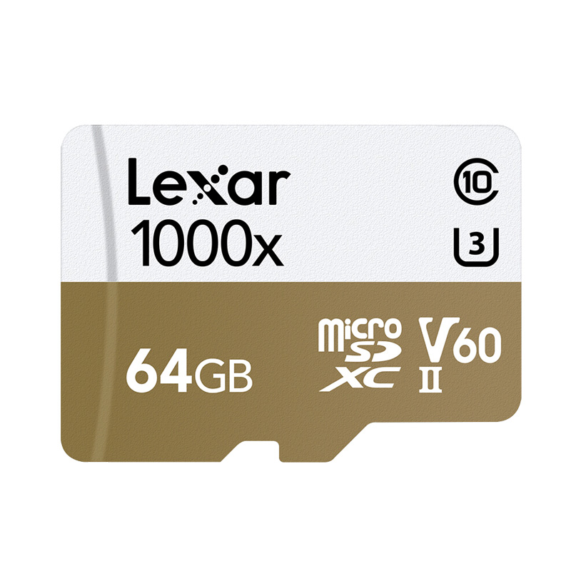 Image 2 - Lexar tarjeta micro sd card 64gb SDXC 150MB/S memory card U3 class 10 car TF flash carte SD card reader for Gopro Sports camera-in Micro SD Cards from Computer & Office