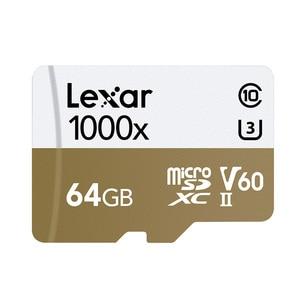 Image 2 - ليكسر tarjeta مايكرو sd بطاقة 64 جيجابايت SDXC 150 برميل/الثانية بطاقة الذاكرة U3 فئة 10 سيارة TF فلاش كارت قارئ البطاقات sd ل Gopro الرياضة كاميرا