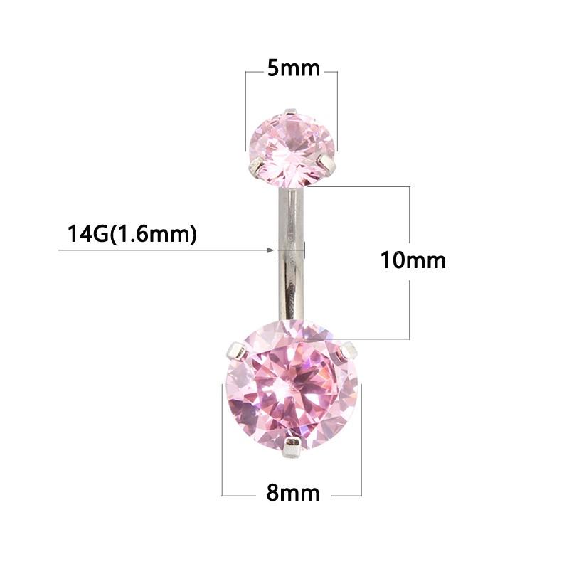 HTB1_nTDOFXXXXX0aVXXq6xXFXXXz Pretty Zircon Jewel Prong Style Belly Button Ring - 2 Colors