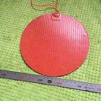3M adhesive backing Silicone heating pad heater 220V 250W diameter 300mm for 3d printer circular heat bed 1pcs