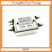 1 шт. EMI фильтр CW4L2-20A-S 20A 115V 250V CW4L2 CW4E 60/50 Гц монофазные более переменного тока