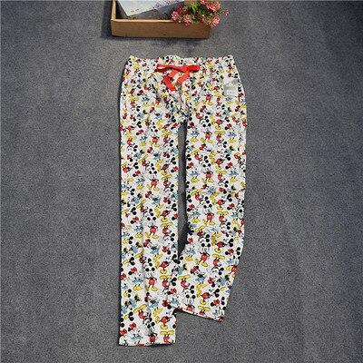 Женские брюки; длинные брюки; тканые хлопковые брюки для сна; женские брюки - Цвет: mouse