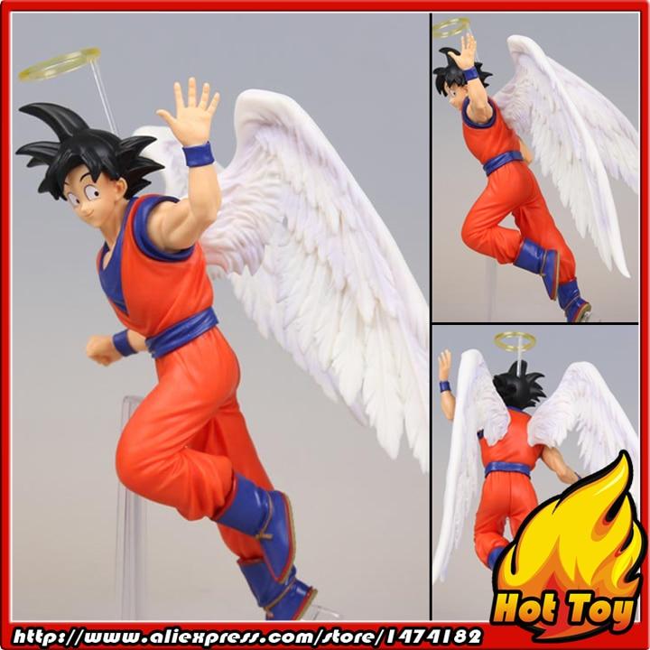 100% Original Banpresto DRAMATIC SHOWCASE 5th season vol.1 Collection Figure - Son Goku (Angel ver.) from Dragon Ball Z original banpresto dramatic showcase 4th season vol 1