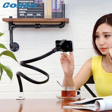 Universal long arm phone holder stand flexible snake shape desk stand for phone Iphone Samsung Galaxy Huawei Xiaomi Note