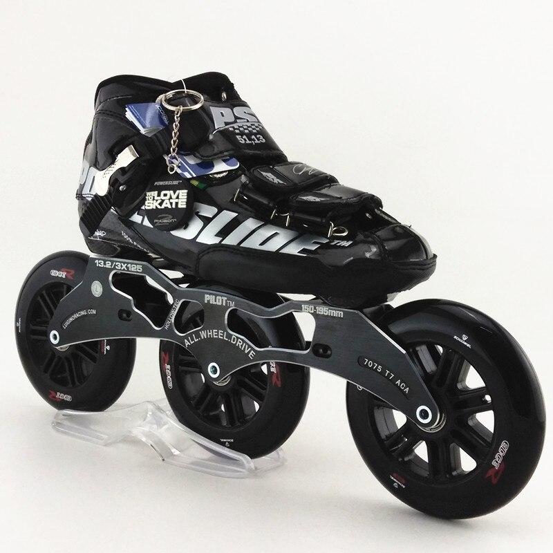Prix pour PS C6 chaussures de patinage de fiber de carbone avec FIGHTER 3X125 super-force support