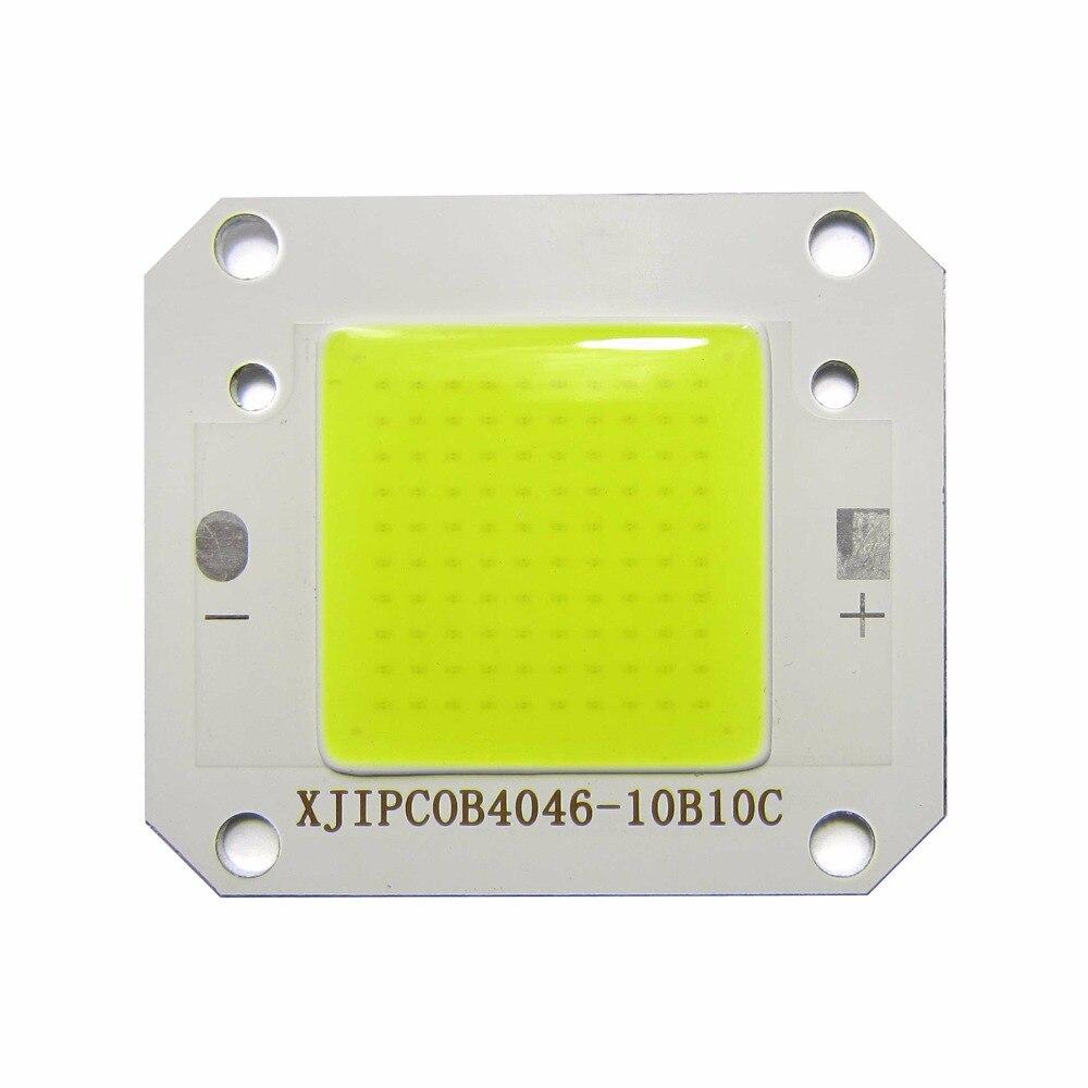 High Power 50W LED Flip Chip White 6000K Full Spectrum SMD LED diodes DIY LED Light Chip for Spotlight Bulb Flood Light
