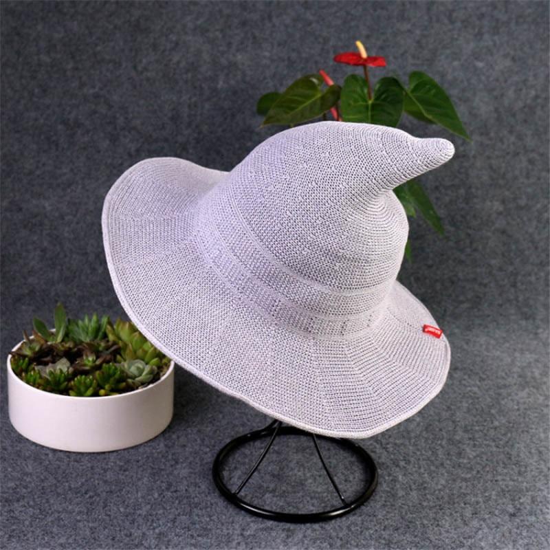 Nya Sommar Kvinnor Sol Kepsar Mode Kepsar Häxa Hatt Kepsar Hinkar - Kläder tillbehör - Foto 5