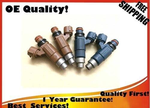 Warranty ORIGINAL Flow Matched Fuel Injector for Mazda 2 0 Nikki INP 780 2pcs INP 781