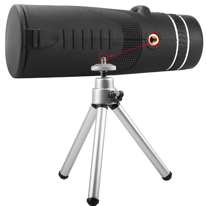 HD 40x60 Monocular High Definition Telescope for Mobilephone Low Light Night Vision RL38-0006-15