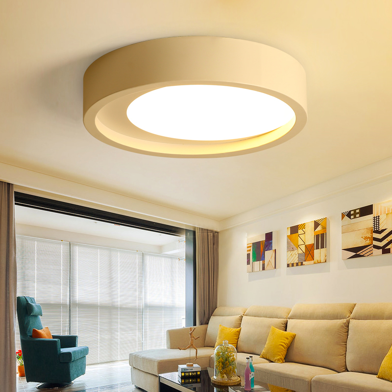 Modern Dimmable LED Ceiling light Flush round  Lighting 36WModern Dimmable LED Ceiling light Flush round  Lighting 36W