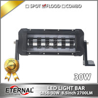 6pcs 30W LED Light Bar Offroad High Power Driving Car Light Truck Motorcycle Offroad ATV UTV