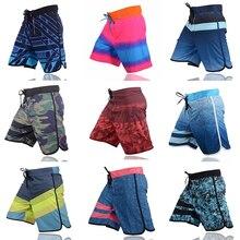 Шорты VANCHYCE мужские пляжные, брендовые пляжные короткие бермуды, быстросохнущие Серебристые пляжные шорты, летние
