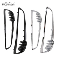 Black Chrome Motorcycle Radiator Trim Bezel Cover For Harley Davidson V Rod V Rod VRSCA VRSC