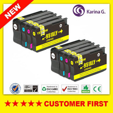 8X Compatible Ink Cartridge For hp 950 hp950XL For HP Officejet Pro 8100 ePrinter 8600 Printer Inkjet Cartridges(China)