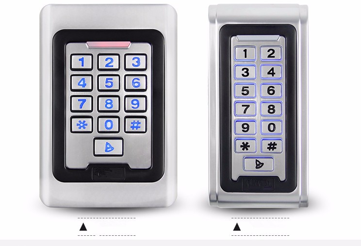 Ciecoo metal keypad access