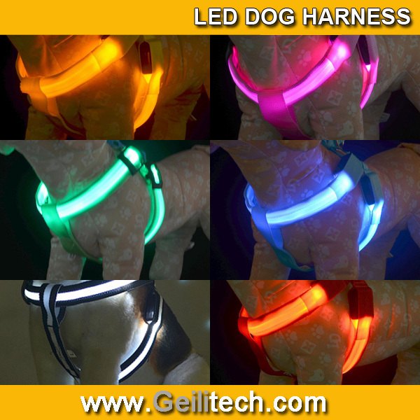 Wholesale 2016 New LED Dog Harness for pet products LED ...