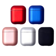 цены Luxury Hard PC Earphone Case For Apple Airpods Shockproof Cover For Air Pods Cases Split Hard PC Protector