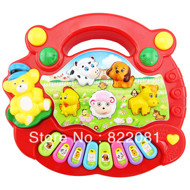 Free shipping Music piano electronic piano toy child orgatron baby toy baby toy 0 - 3