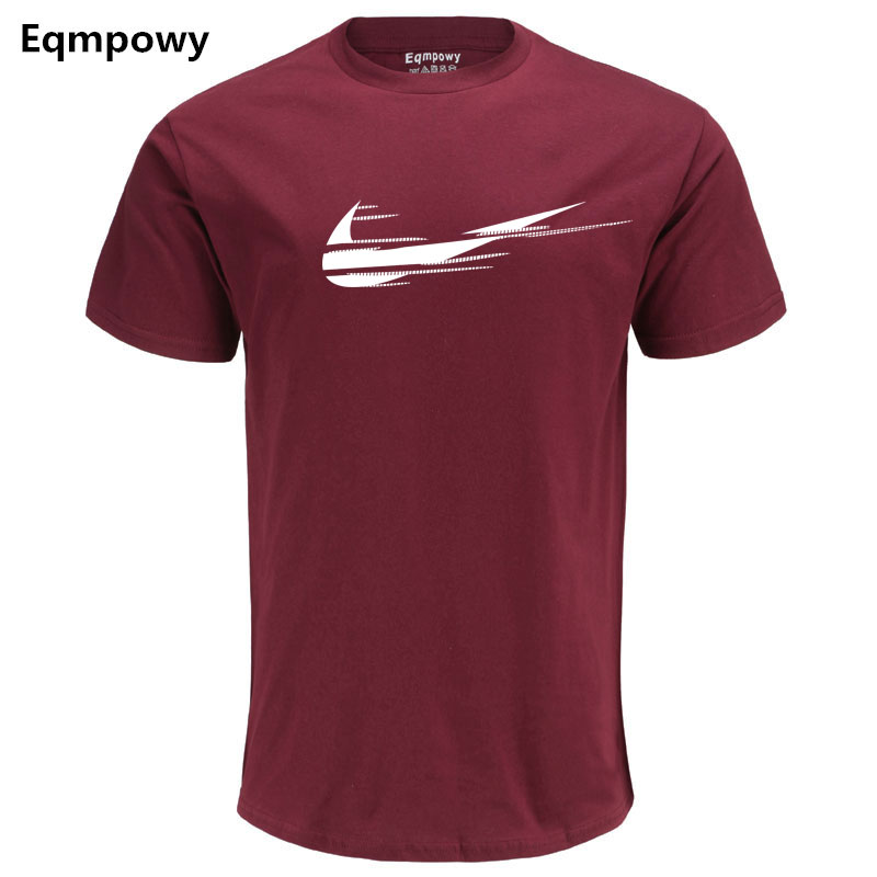 2018 Nya märkesvaror T-shirts Sommarutskick Logo 100% bomulls - Herrkläder - Foto 3