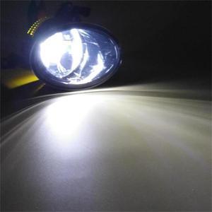 Image 2 - 2pcs Car LED Light For VW Touareg 2011 2012 2013 2014 2015 Car styling Front Bumper LED Car Fog Light LED Fog Lamp