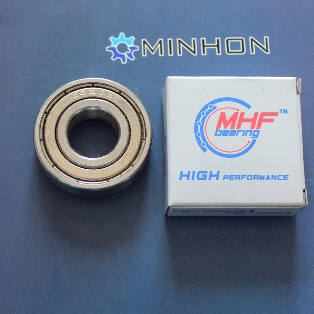 1pc 6203-2Z 6203ZZ 6203 MHF Deep Groove Ball Bearings Size 17x40x12 Mm Best Price High Performance