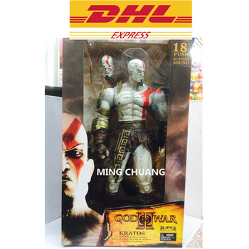 "NECA God Of War: Ghost Of Sparta 18"" Kratos Mars Conqueror Son Of Zeus Cratos Sparta Cratus Action Figure Collectible Model Toy"