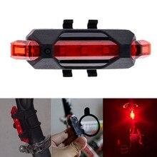 Яркость предупреждение заднего индикатор хвост аккумуляторная фонарик велоспорт велосипед безопасности свет
