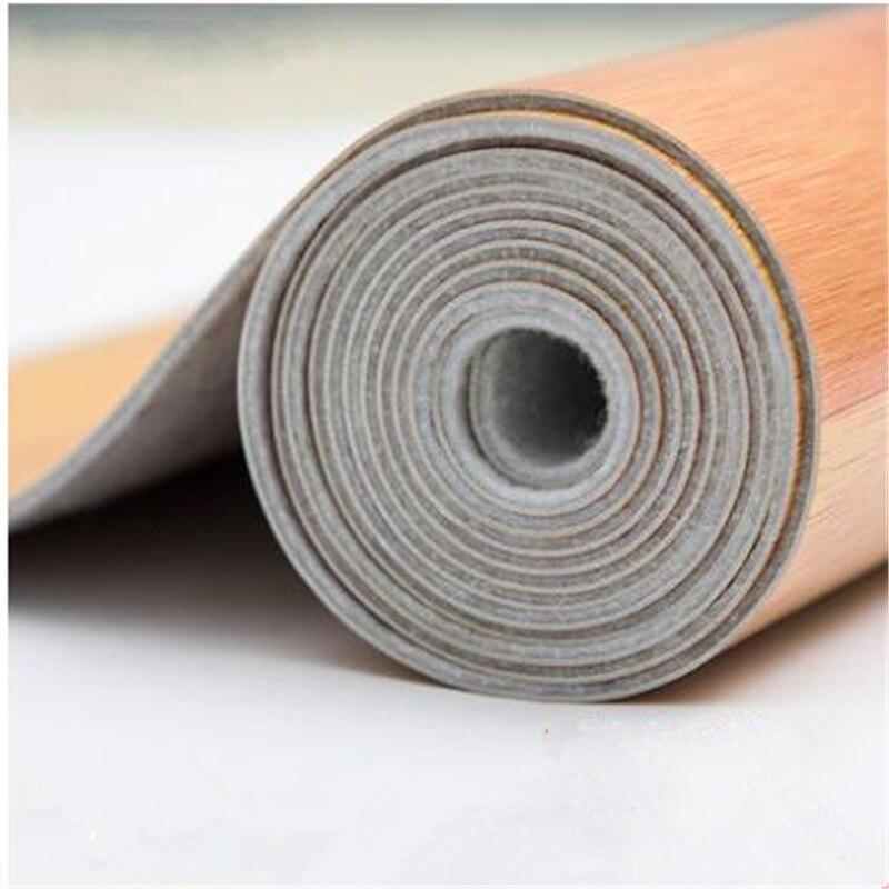 Beibehang Épaissie plancher en cuir pvc plancher autocollants porter ciment tapis de sol rugueux chambre en plastique accueil chambre fond d'écran en cuir