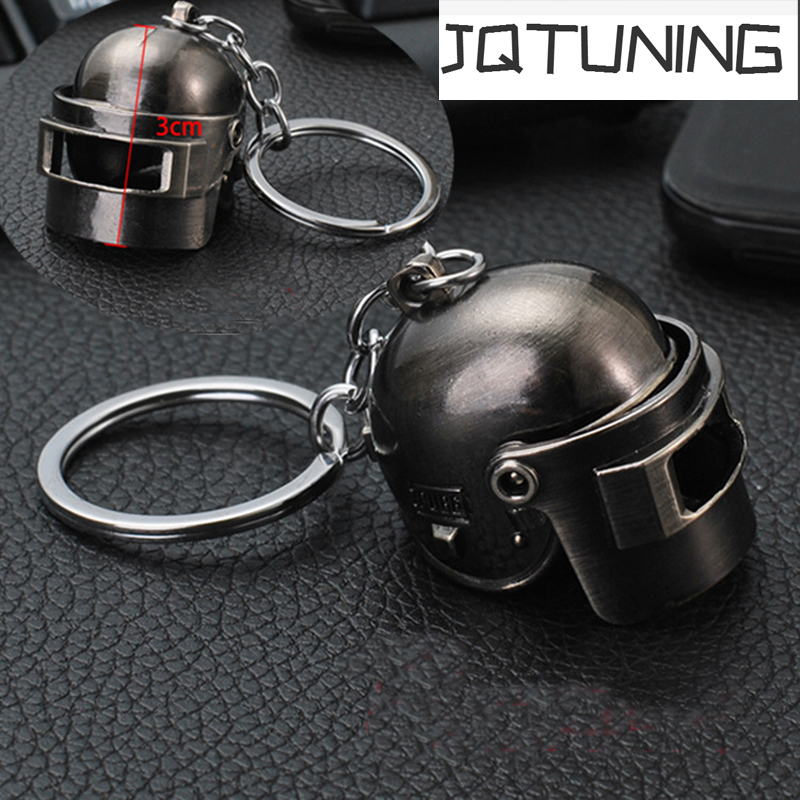 PUBG Game Playerunknowns Battlegrounds Cosplay Costumes Special Forces Helmet Armor Model Car Motorcycle Key Chain Keychain