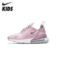 NIKE Kids AIR MAX 270 SE (GS) новое поступление Пот Абсорбирующие детские кроссовки для малышей Уличная обувь для бега AQ2654 600