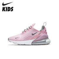 NIKE Kids AIR MAX 270 SE (GS) New Arrival Sweat absorbent Kids Sneakers Toddlers Outdoor Running Shoes AQ2654 600