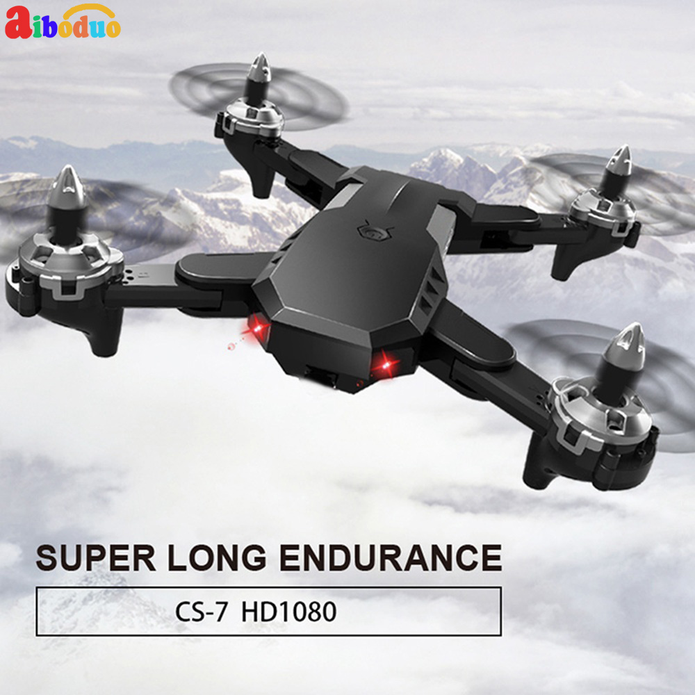 CS-7 RC quatre axes avion haute tenue Mode bras pliable RC quadrirotor Drone constante barométrique E58 1080 P HD avec caméra