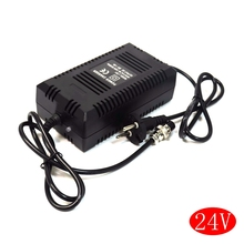 Портативное умное зарядное устройство для скутеров, 24 В, свинцово кислотный AGM Gel, адаптер питания для скутеров, зарядка с вилкой европейского стандарта, 1,8а, dc27,6в, 3 контактный разъем XLR