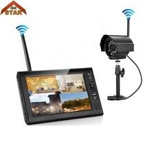 Stardot CCTV Системы 4CH HD Беспроводной NVR kit IP66 Поддержка 32G 1 шт ИК Ночное видение IP камера, Wi-Fi, Камера безопасности Системы наблюдения