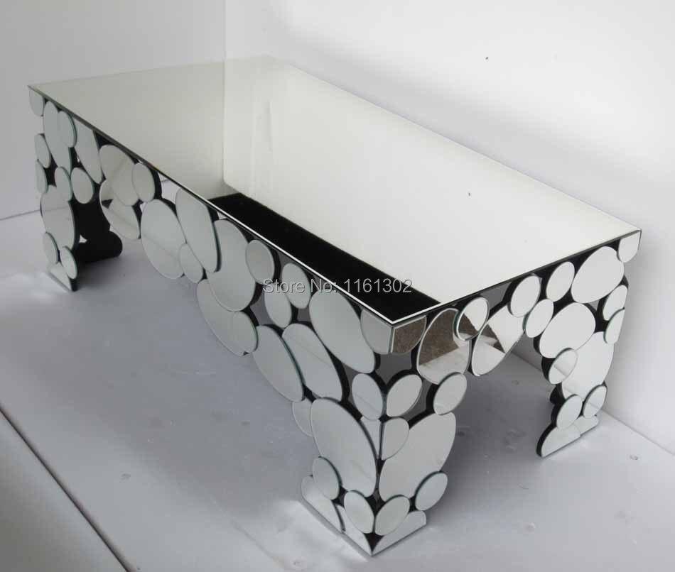 ... Modern Mirrored Coffee Table  Mirrored Furniture