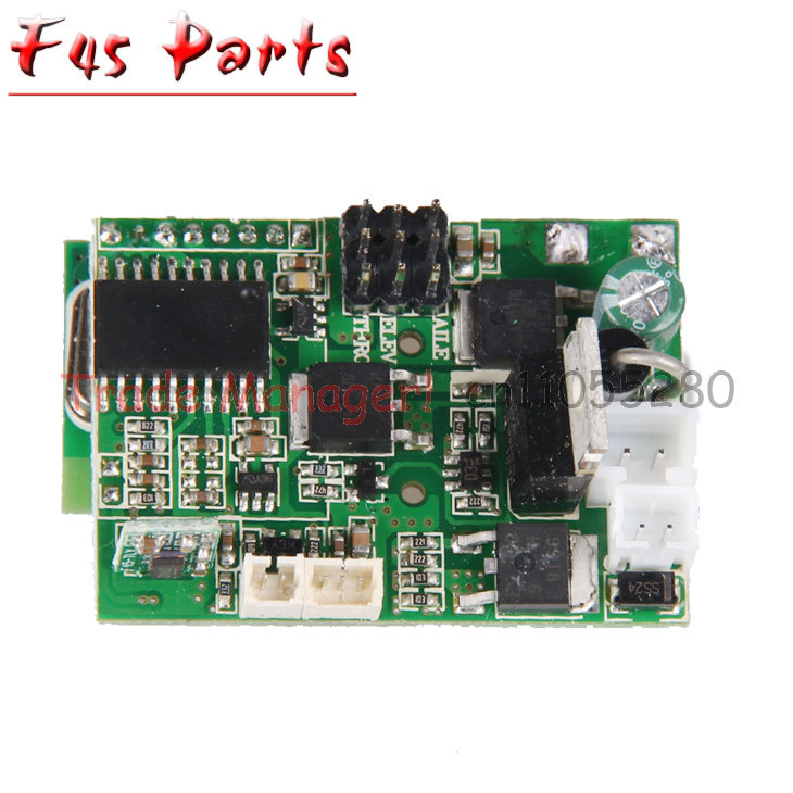 Free shipping MJX F45 F645 new Upgrade Receiver board card pcb board Spare Parts for RC Helicopter Accessories h22 007 receiver board spare part for h22 rc quadcopter