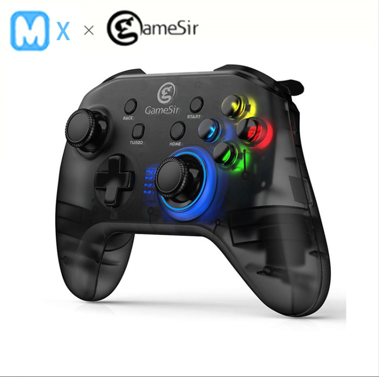 GameSir T4 2 4 GHz USB receiver Wireless Game Controller USB wired Gamepad for Windows 7