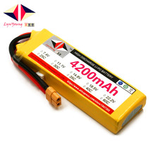 LYNYOUNG Rc 3S lipo battery11 1V 35C 4200mAh for Boat Truck Helicopter airplane