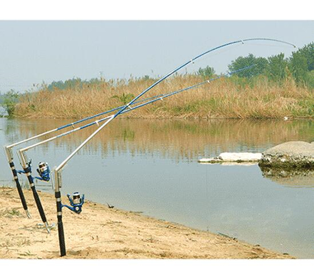 1.8 2.1 2.4 2.7M Automatic Fishing Rod Sea River Lake Stainless Steel Automatic Fishing Rod Fish Pole