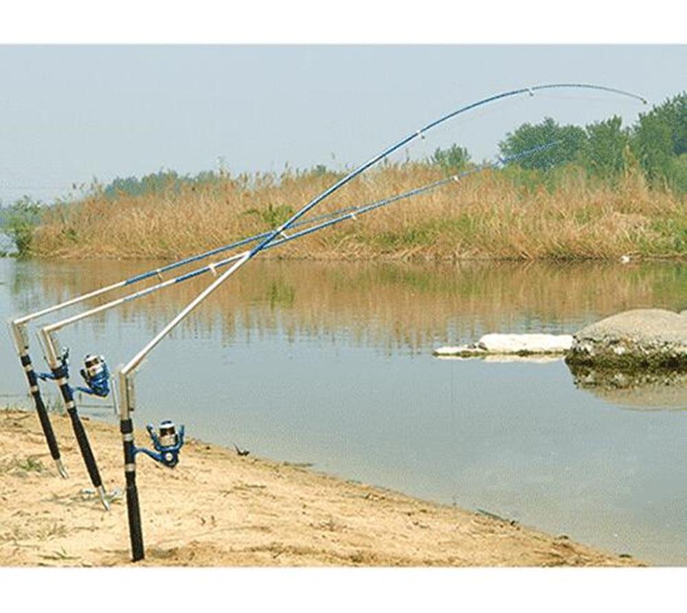 1.8/ 2.1 /2.4 /2.7M Automatic Fishing Rod Sea River Lake Stainless Steel Automatic Fishing Rod Fish Pole