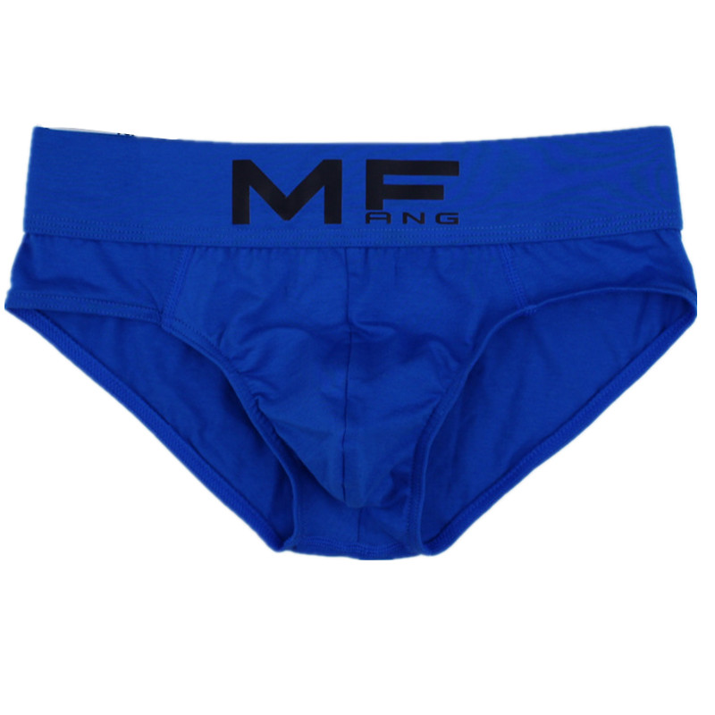 <font><b>Sexy</b></font> <font><b>Men</b></font> <font><b>Underwear</b></font> Briefs Shorts Cotton Breathable Low Waist U Convex Pouch Underpants cueca masculinas ropa Plus Size L-3XL image