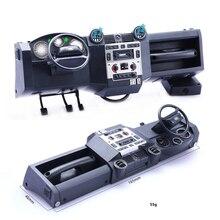 Моделирующий комплект центральной консоли для Traxxas TRX4 Land Rover Defender RC Car DIY часть автономный светильник с вентилятором