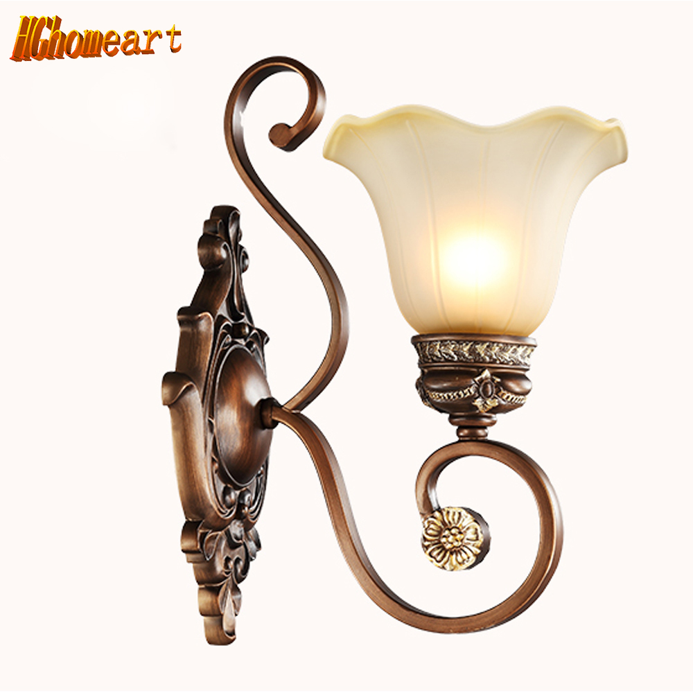 American Wall Lamp Continental Lamp Bedroom Living Room Wall Sconce Balcony Aisle Single - Head Wall Lamp Iron Retro Lighting wall light 12w led wall lamp bedroom bedside living room hallway stairwell balcony aisle balcony lighting ac85 265v hz64