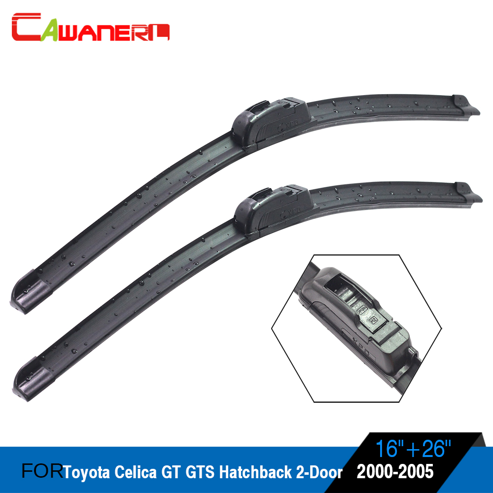 Toyota Celica Coupe Hatchback To: Cawanerl Car Bracketless Soft Rubber Windscreeen